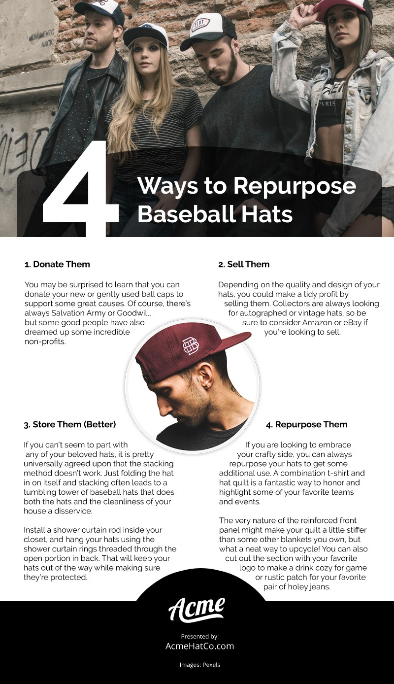 Too Many Baseball Caps? Try These Four Options